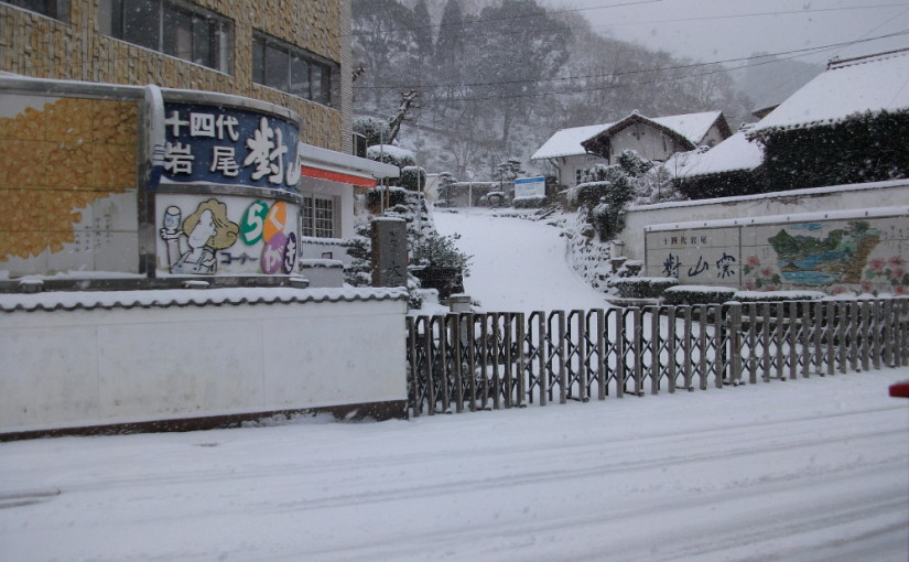 久方振りの大雪です